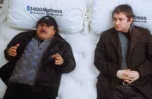 Danny DeVito & Martin Freeman, strange bedfellows