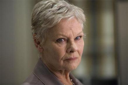 Judi Dench returns as M