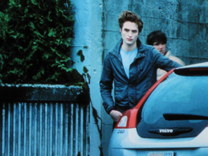 The Volvo C30 has a supporting role in Twilight
