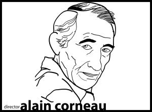 director Alain Corneau - portrait © 2012 ctaylor