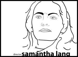 director Samantha Lang – portrait © 2012 ctaylor