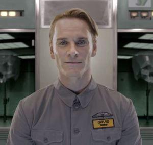 """Prometheus"" - David, played by Michael Fassbender"