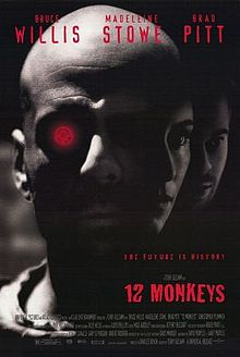 "Terry Gilliam's 1995 masterpiece ""12 Monkeys"""