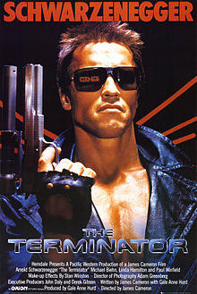 "Orion Pictures presents ""The Terminator"""