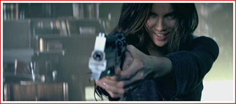 "Kate Beckinsale is the new Lori Quaid in ""Total Recall"" (2012)"