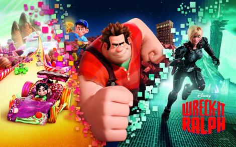 "Disney presents ""Wreck it Ralph"""