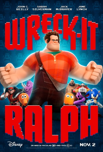 "Disney presents ""Wreck it Ralph"""