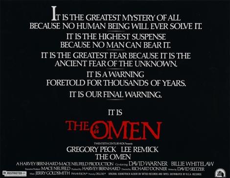 20th Century Fox presents The Omen