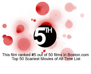 Fifth Place: Scariest Films